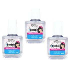 Perfume Para Cabelo #bombei - 30ml - Super Kit 3 Unidades