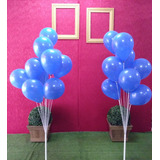 Suporte P/balão Que Imita Gás Hélio Kit C/ 4 Pçs P/ 10balões