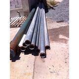 Tubos De Aço Galvanizado C/ Rosca Din 2440 4pol 6m