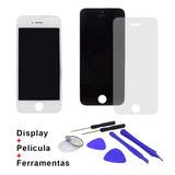 Tela Display Iphone 5 Ou 5s Ou 5c + Ferramentas + Pelicula