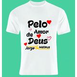 Camiseta Jorge E Mateus Ref17