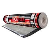 Membrana Asfaltica 4 Mm Poliflex 40 Kilos 10 Mts Aluminio