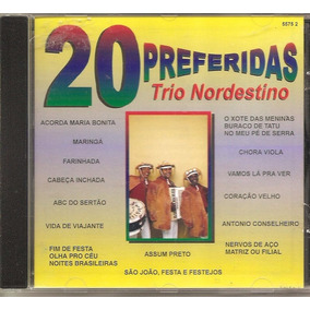 Cd Trio Nordestino - 20 Preferidas Rge - Sucessos Forro