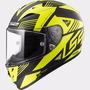 Casco Integral Ls2 Ff323 Arrow R Neon Black Yellow Mate
