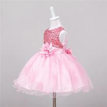 Brecho Online - Bazar Infantil - Vestido Festa Luxo Infantil