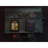 Atari 2600 Black Con 2 Juegos B