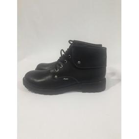 Zapato De Colegio Con Caña Marca Pluma N°38 Cuero 100%