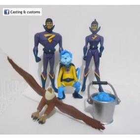 Liga Da Justiça Custom Super Gêmeos