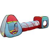 Dual Play Tienda Kiddey Infantil Con Túnel (3-piece Set) -