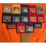 Juegos Gbc Pokemon Yellow Azul Rojo Silver Gold Sapphire