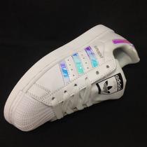 Tenis Adidas Superstar Para Dama Nuevo Diseño