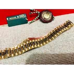 Pulcera Presidente Oro 14k Compañera De Reloj Rolex Sub 9cit