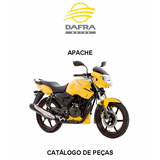 Catálogo De Peças E Parts Moto Dafra Apache Em Pdf