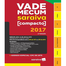 Vade Mecum Saraiva Compacto - 2017 - 17 Ed
