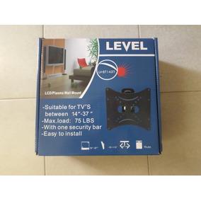 Base Para Tv 14 A 37 Movil Lcd Led,plasma Pared Level