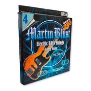 Encordado Cuerdas Bajo 045-105 Martin Blust M400 4 Cuerdas