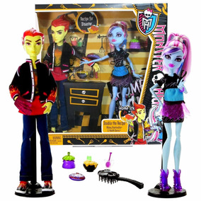 Monster High Com Abbey Bominable E Heath Burns Plus Acessóri
