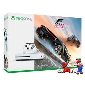 Xbox One S C/ 2 Controles E Jogo Forza Horizon 3