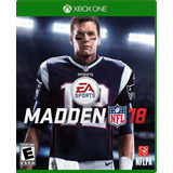 Madden Nfl 18 Xbox One Nuevo