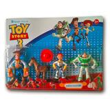 Kit Toy Store Woody Coleção 4 Personagens Disney Promoção