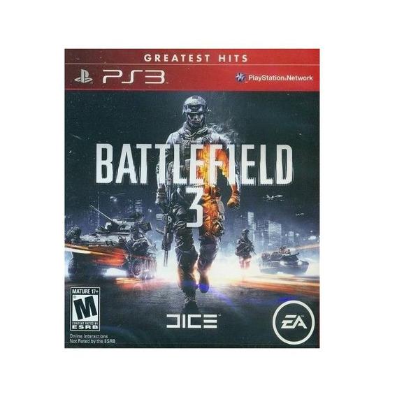 Battlefield 3 Ps3 Greatest Hits Juego Físico Original Cd