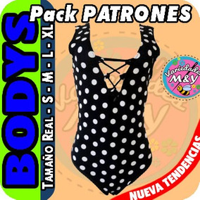 Bodys Para Damas Niñas Pack De Patrones Confección +bonos