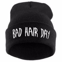 Touca Gorro Beanie Bad Hair Day Masculino Feminino No Brasil