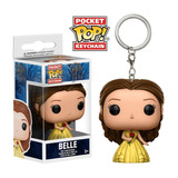 Chaveiro Belle - A Bela E A Fera - Disney Pocket Pop! Funko