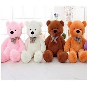 Urso Gigante De Pelucia Teddy Bear 1 Metro Cheio E Pronto