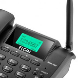 Telefone Rural Celular Fixo Gsm 200 Preto Elgin