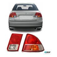 Lanterna Direita Canto E Mala Honda Civic 2004 2005 2006