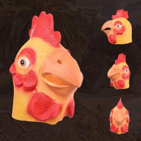 Máscara Realista Engraçada Galinha Pássaro Festa Da Fantasia