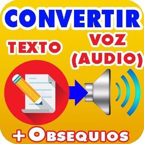 Programa Convertir Texto A Audio Voz Loquendo Textaloud