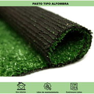 Pasto Sintético 8mm Tipo Alfombra 20m2 Green Line