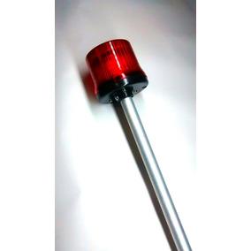 Sinalizador Piscante Para Torre Vermelho - Led C/ Fotocelula