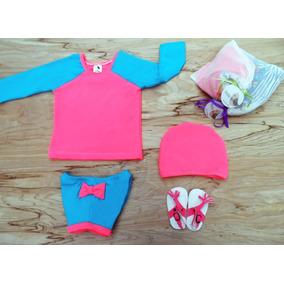 Vestido De Baño 2 Piezas Niñas Desde Talla 1 A La 4