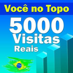5.000 Visitas Para Sites, Blog, Loja Virtuais, E Tudo Mais