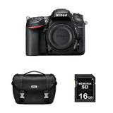 Cámara Nikon D7200 Solo Cuerpo Sd 16 Gb + Maletín