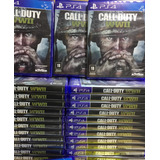 Call Of Duty World War 2 Ww2 Ps4 Mídia Cd Pronta Entrega
