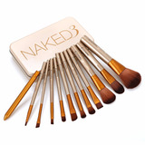 Set De 12 Brochas De Maquillaje Naked 3 By Urban Decay
