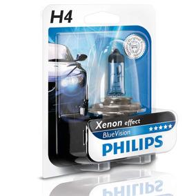Lampada Farol Philips Blue Vision H4 4000k 60/55w Carro Moto