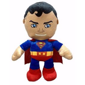 Boneco Super Man Em Pelúcia Antialérgica 38 Cm Altura