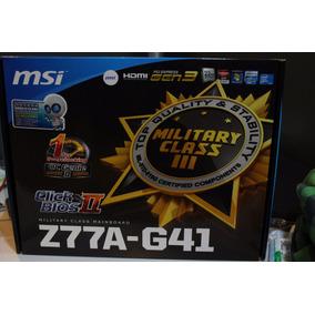 Mother 1155 Gamer Msi Z77a-g41 Nuevo C / Fallas Sin Envio
