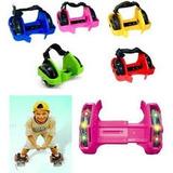 Rodinhas De Silicone Para Tênis Roller Rodizios Luz Led