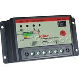 Controlador Carga Solar Pwm 12v/24v 20a Ideal P/ Iluminação