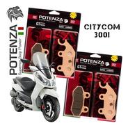 Kit Pastilha Potenza Diant + Tras Dafra Citycom 300i