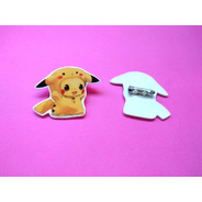 Prendedor Pokemon Anime Pikachu Cute Tierno Pin
