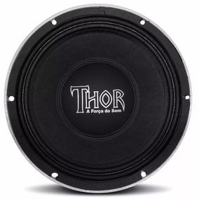 Alto Falante Woofer Thor Mg 8p 400w Watts Rms 8 Ohms