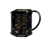 Cubo De Luz De 18w Iron Rock Envio Gratis