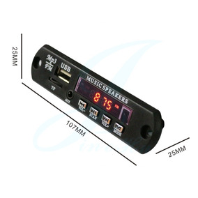 Modulo Reproductor Usb Mp3 Sd Usb Sin Bluetooth 12v